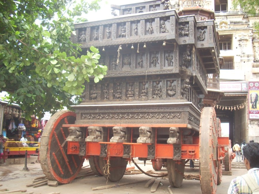 The Great Chariot outside - Virupaksha