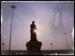 Statue Outside Marina beach