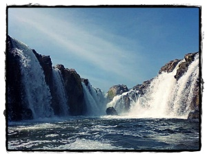 Hogenakkal Waterfalls - Up Close