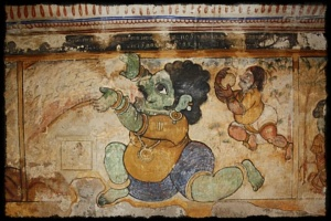 Wall Paintings near Lingas