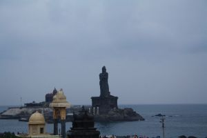 First shot of Kanyakumari...