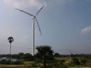Suzlon Windmills near Kanyakumari