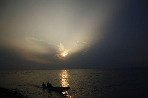 Sunrise at Kanyakumari