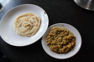 Parota & KadalaCurry