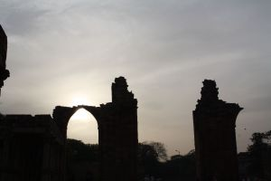 The Ruins at Twilight