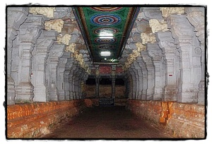 Inside Rameshwaram Temple