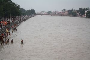 Ganga River in the morning