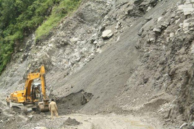 The Landslide...