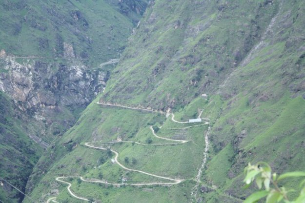 Hairpin Bend Road