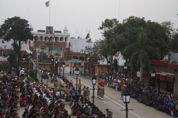 India-Pakistan Wagah Border
