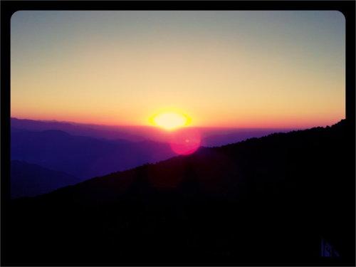 Sunrise At Tiger Hill