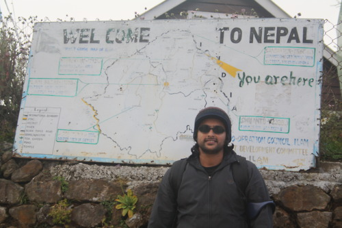 When we reached Tumling & Nepal :)