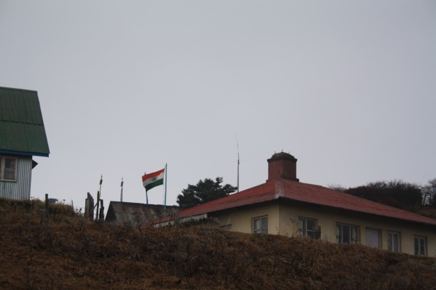 The Sandakphu Border Post