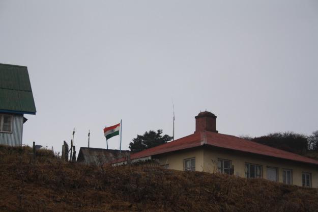 The Sandakphu Border Post