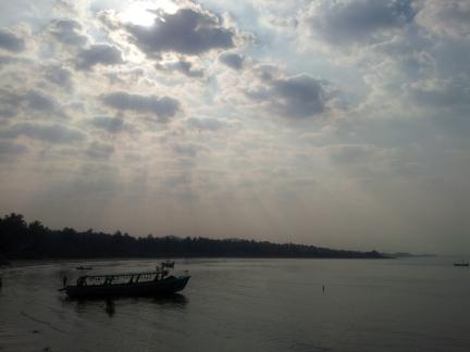 Murdeshwar Beach's Serenity