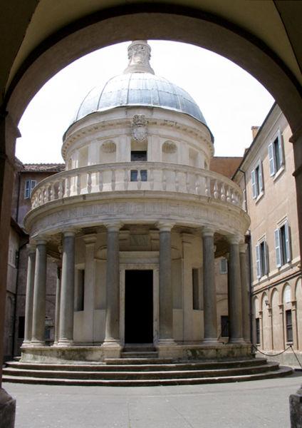 The Tempietto (San Pietro in Montorio)