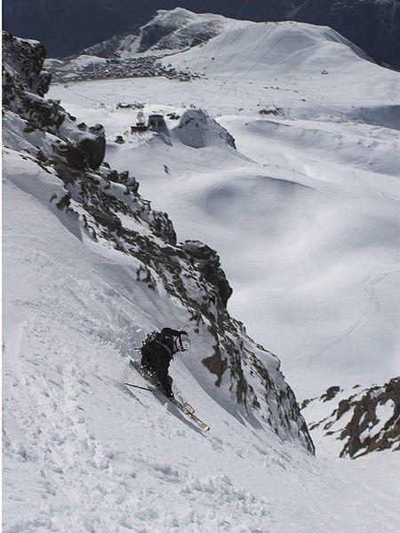 Alpe d'Huez - France, Skiing