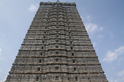 The Royal Entrance to the Temple -  Rajgopuram