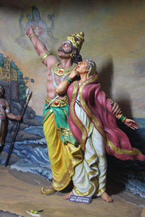 Ravana Promising his Mother