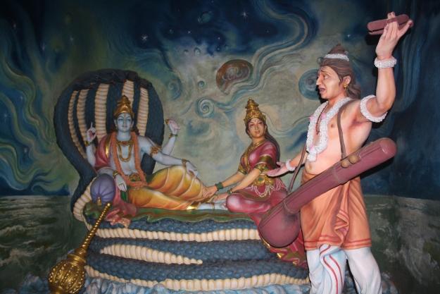 Narada goes to Vishnu