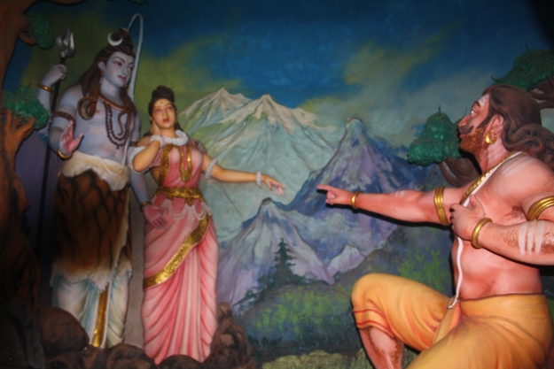 Ravana asks for Parvati