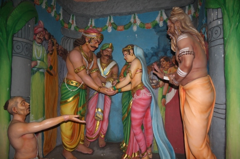 Ravana marrying the King's Daughter