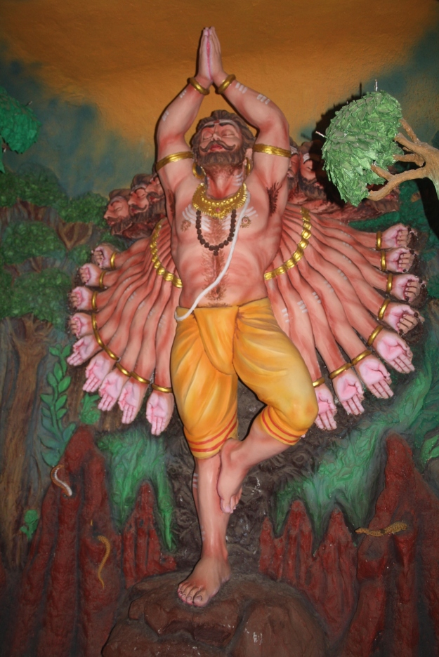 Ravana Prays for Forgiveness