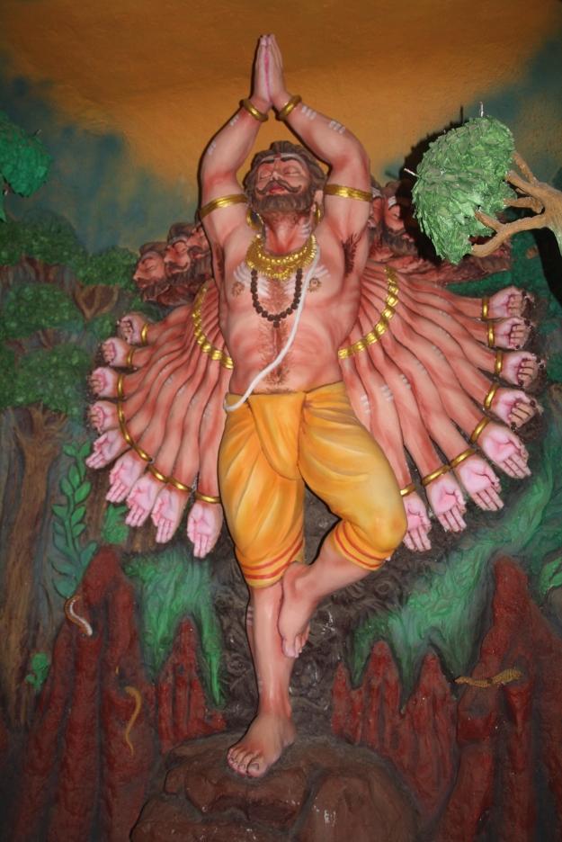 Ravana Prays for Forgiveness
