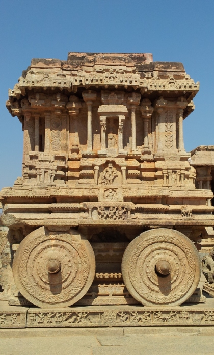 Stone Chariot at the Vijaya Vittala temple, Hampi, Ruins, Vijayanagara, Tenali Rama, Visit to Hampi, Travel guide to Hampi, Hampi India, Indian ruins, Indian temples, Karnataka, Hampi, Krishnadevaraya