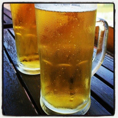 Chilled Beer at Danny's Riverside Resort, Goa, Anjuna, Vagator, Calangute, Goa, India, Travel