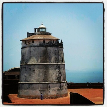Lighthouse at Ft. Aguada, Ft. Aguada, Fort Aguada, Goa, North Goa, Dil Chahta Hai, Lighthouse, Taj Fort Aguada