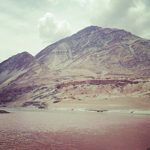 Sangam - Confluence of Indus and Zanskar Rivers…