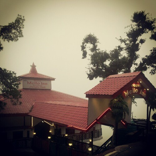 Mcllo's Inn… Has a great view of the valley, enroute Bhagsu Waterfall