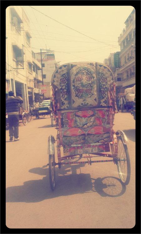 Cycle Rickshaw in Allahabad