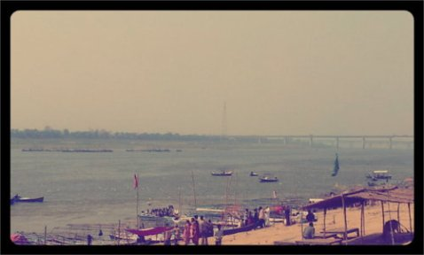 Banks of Triveni Sangam