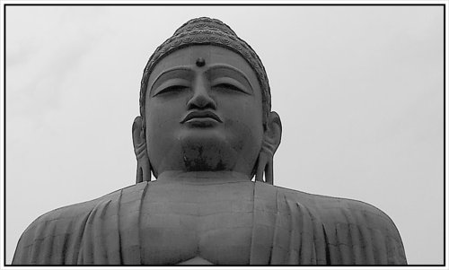Eyes of the Buddha Statue