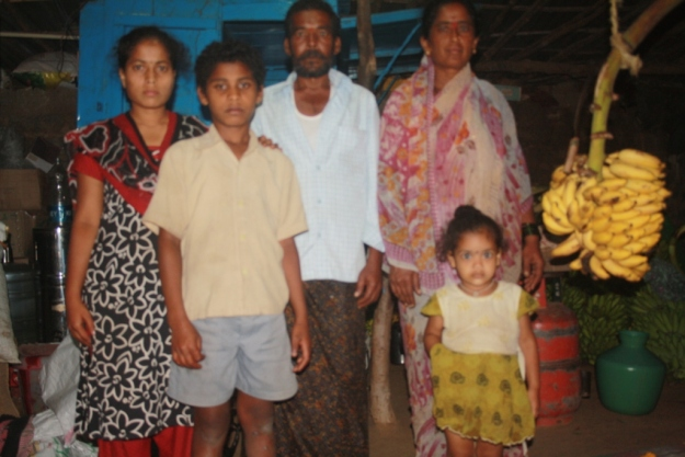 Govindappa and his family