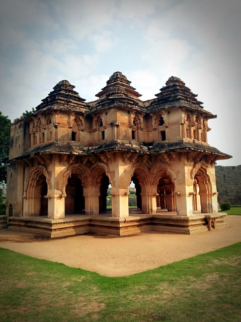 Lotus Mahal in Zennana Enclosure