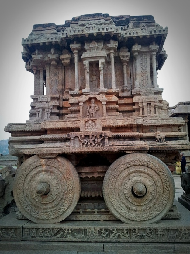 Stone Chariot at Vittala Temple