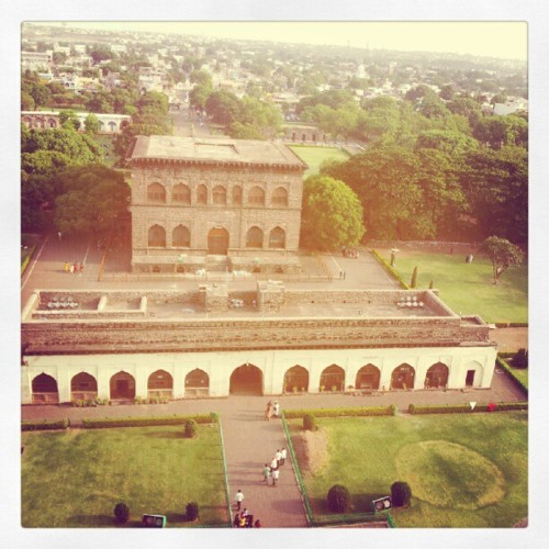 View from Gol Gumbaz