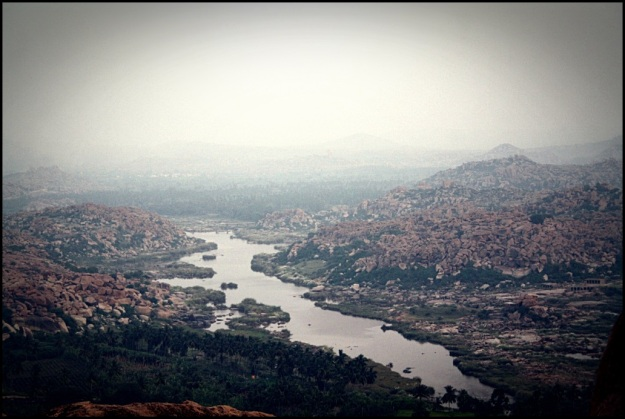 View of Hampi from Anjaneya