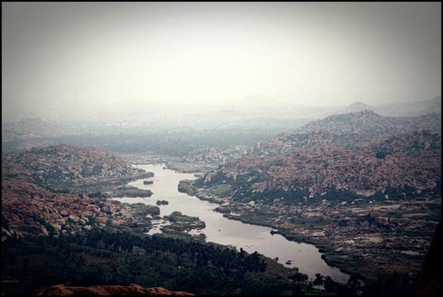 View of Hampi from Anjaneya