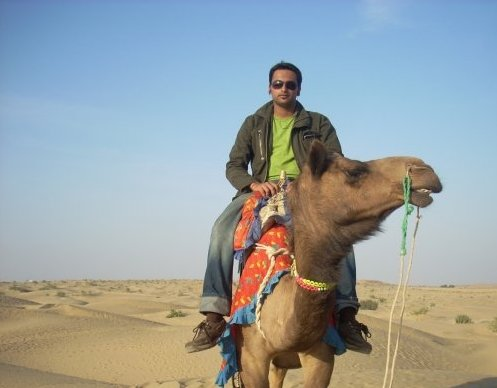 Into the Jaisalmer Desert