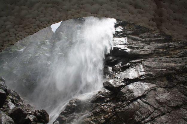 Uttarakhand, Mana, Glacier, Vasudhara falls, Himalayas, Badrinath