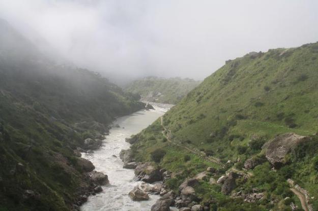 Uttarakhand, Himalayas, Mana, Vasudhara Falls, Badrinath