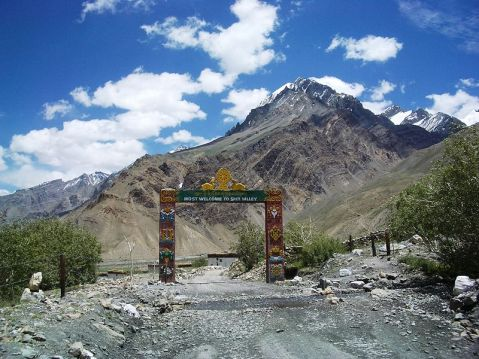 Entrance of Spiti Valley - Losar