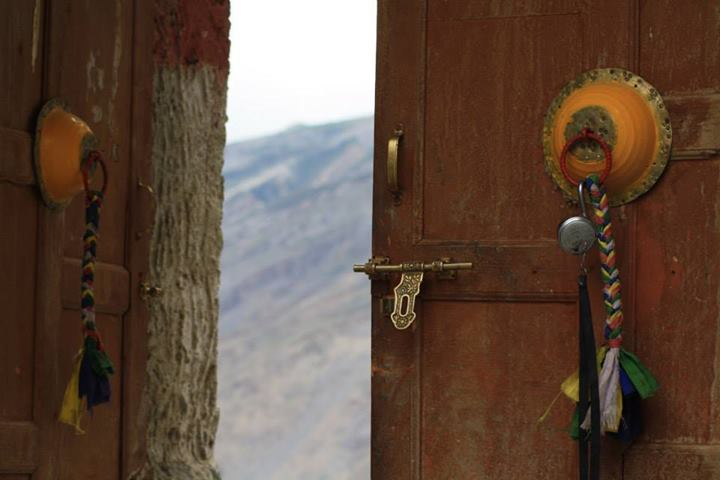 Entrance to Dhankar Monastery