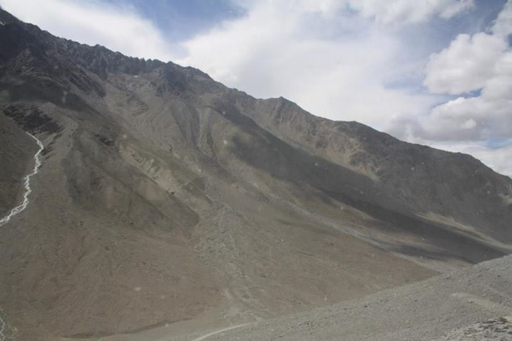 The cold desert enroute Spiti Valley