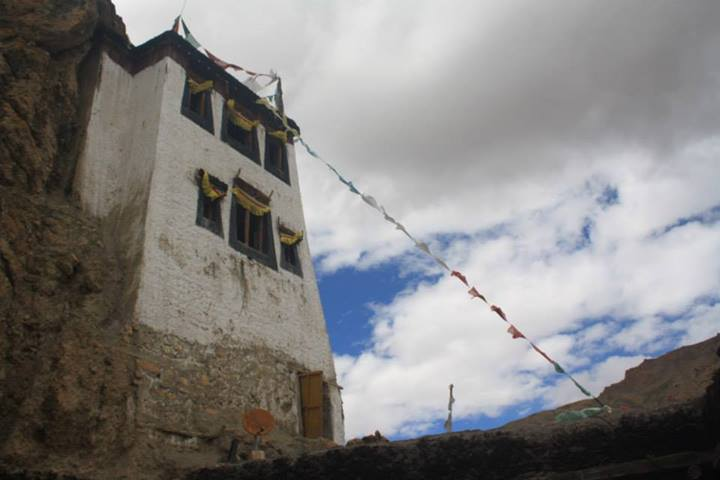 A tower atop the Monastery