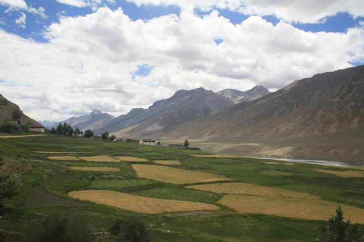 The road to Spiti isn't just about barren terrains